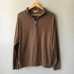 Peter Millar 1/2 Zip Jersey Pullover Sweater SZ M